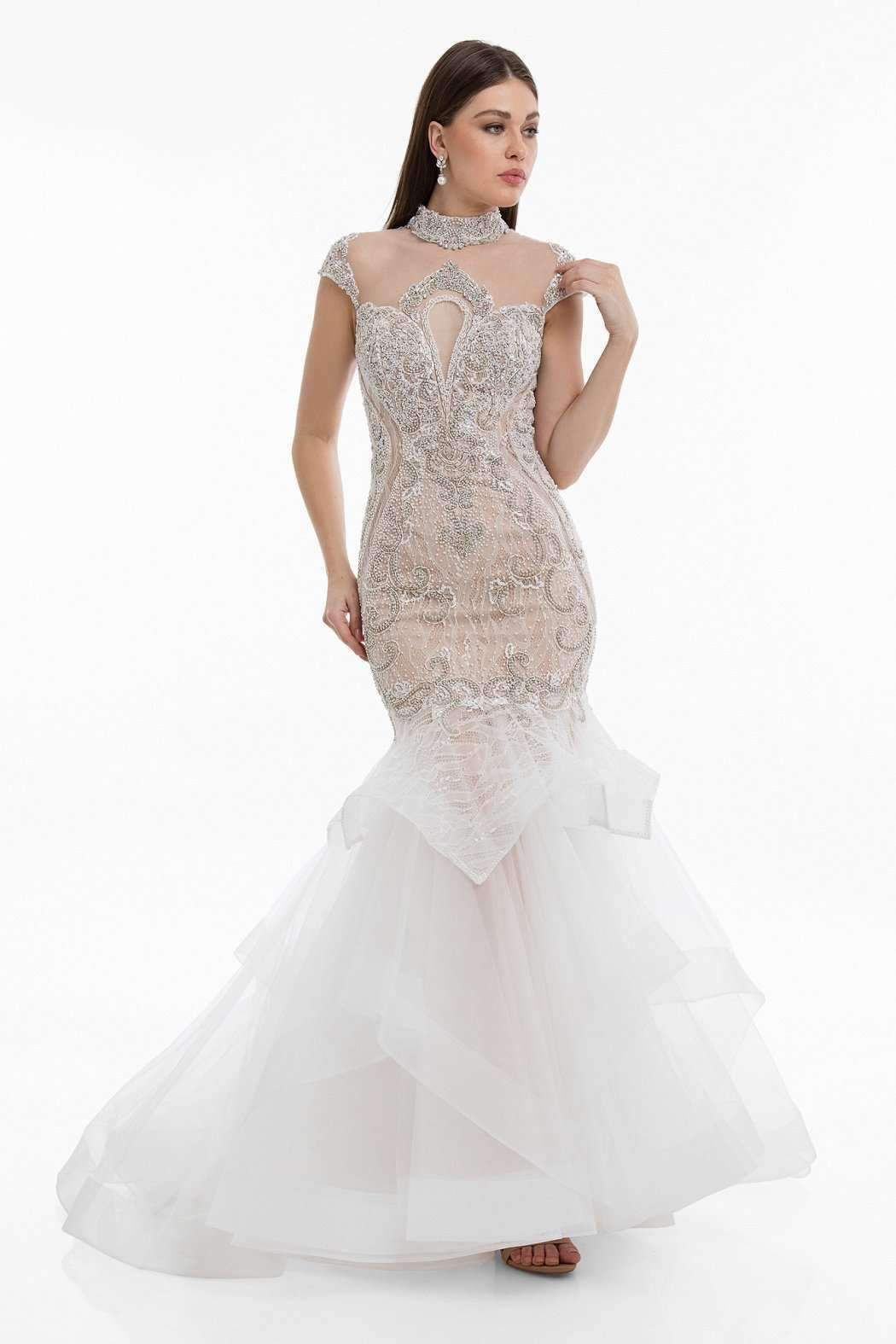 wholesale dealer 3ceda a4753 Terani 1821GL7435 Dress | Products | Dresses, Evening gowns ...
