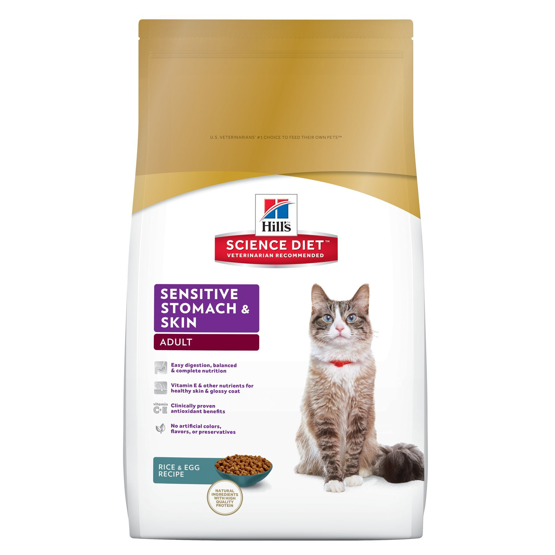 Hill S Science Diet Sensitive Stomach And Skin Adult Cat Food