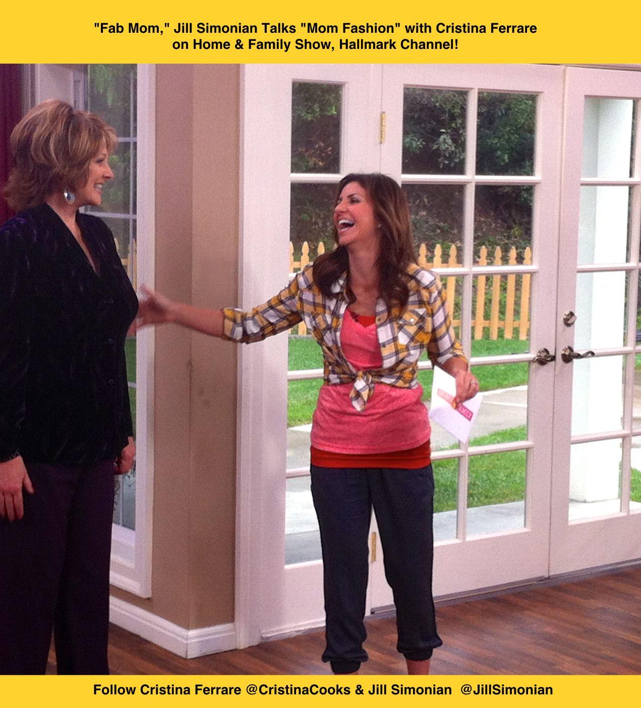 Christina ferrare hairstyle products used -  Fab Mom Jill Simonian With Cristina Ferrare On Home