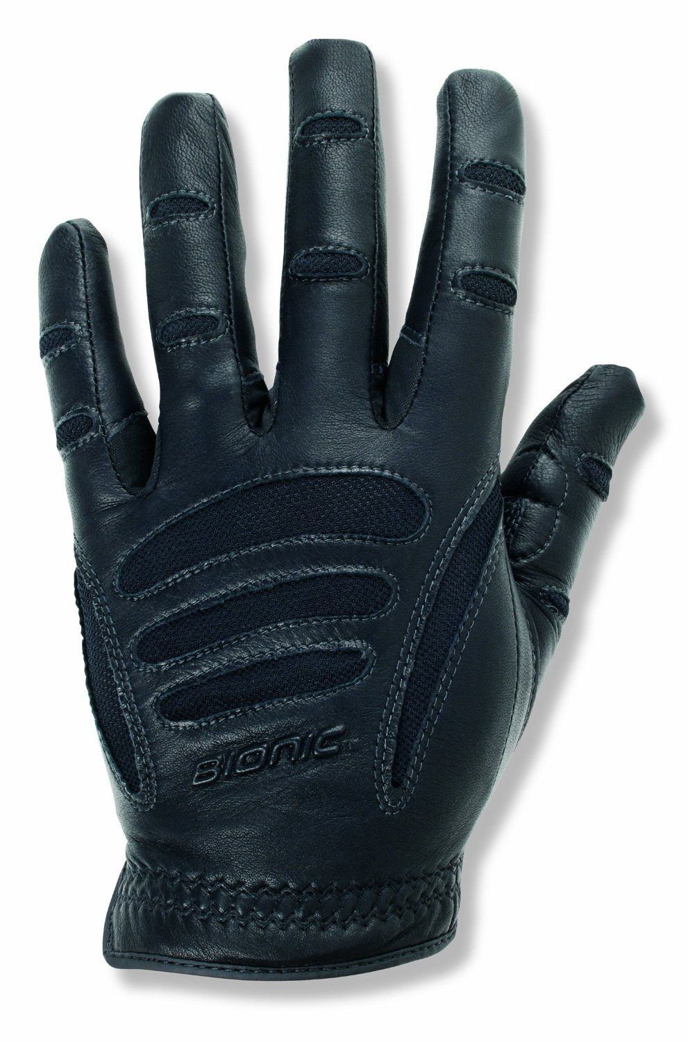 Leather gloves mens amazon - Amazon Com Bionic Men S Driving Gloves Black Xx Large Sports