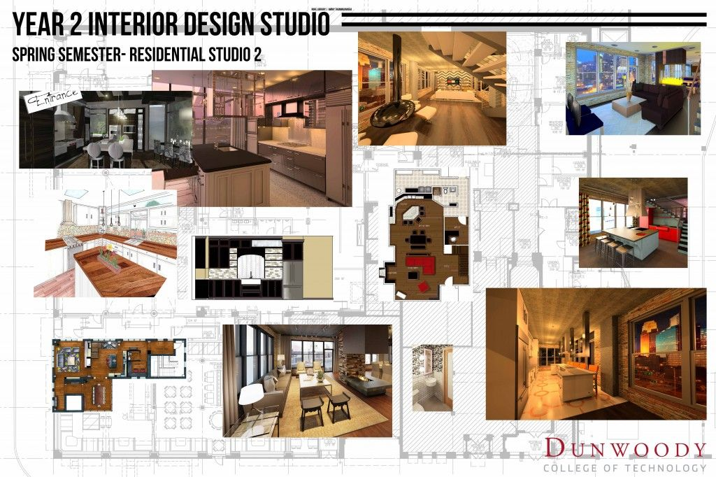Interior Design Bachelor S Degree Dunwoody College Of Technology