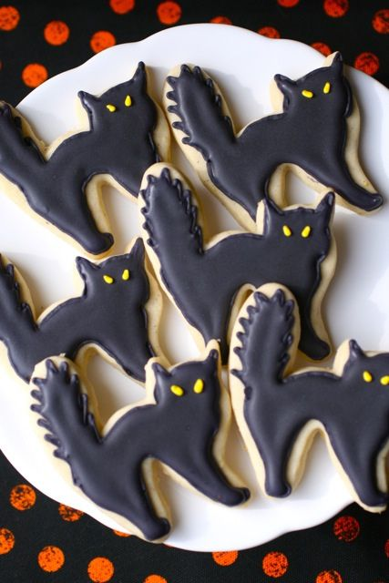 Halloween Sugar Cookies #halloweencookies
