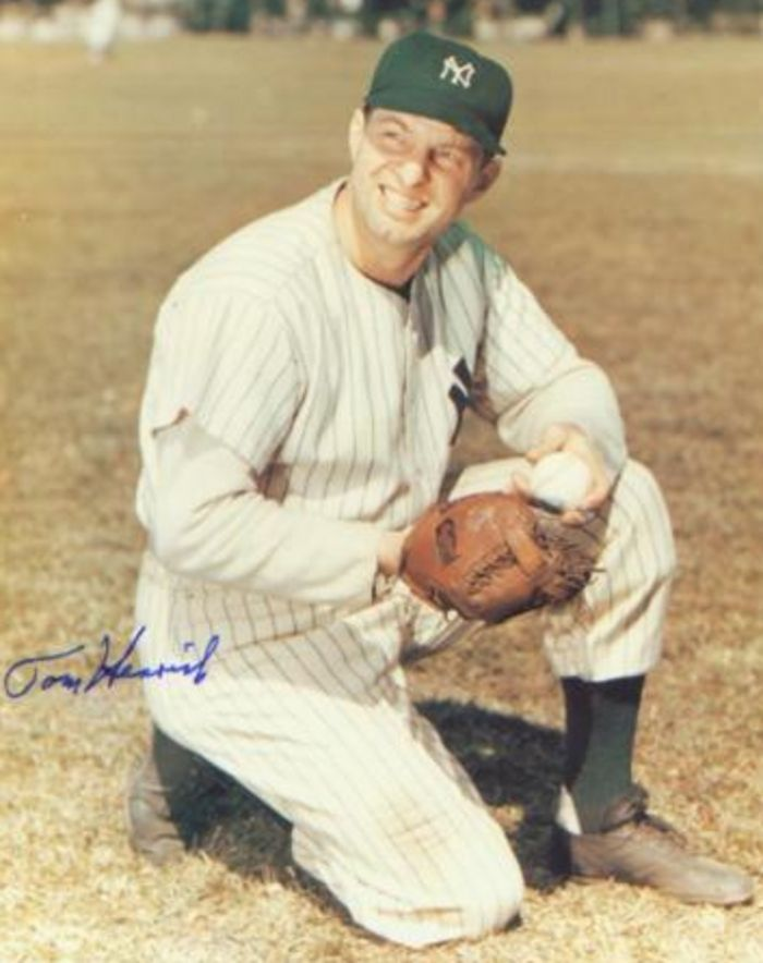 TOMMY HENRICH: (1913 - 2009) - OUTFIELDER WITH NEW YORK