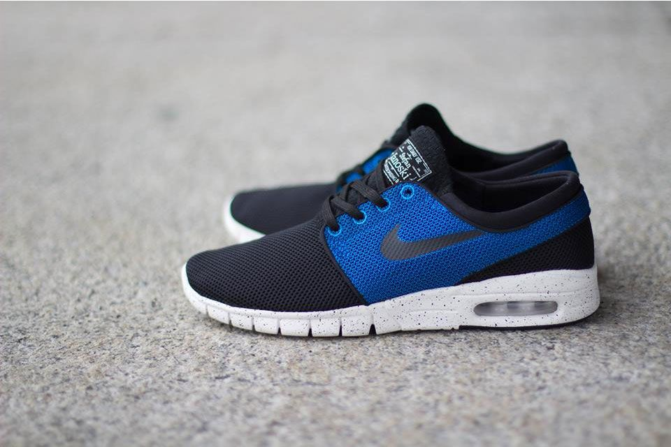 "lowest price 883f4 1628e Nike Stefan Janoski Max ""Black Black-Photo Blue Ivory"""