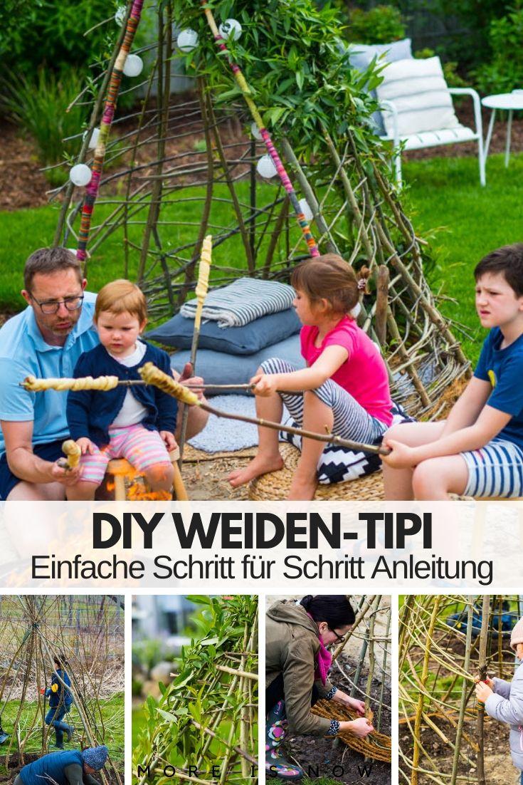DIY Weiden Tipi
