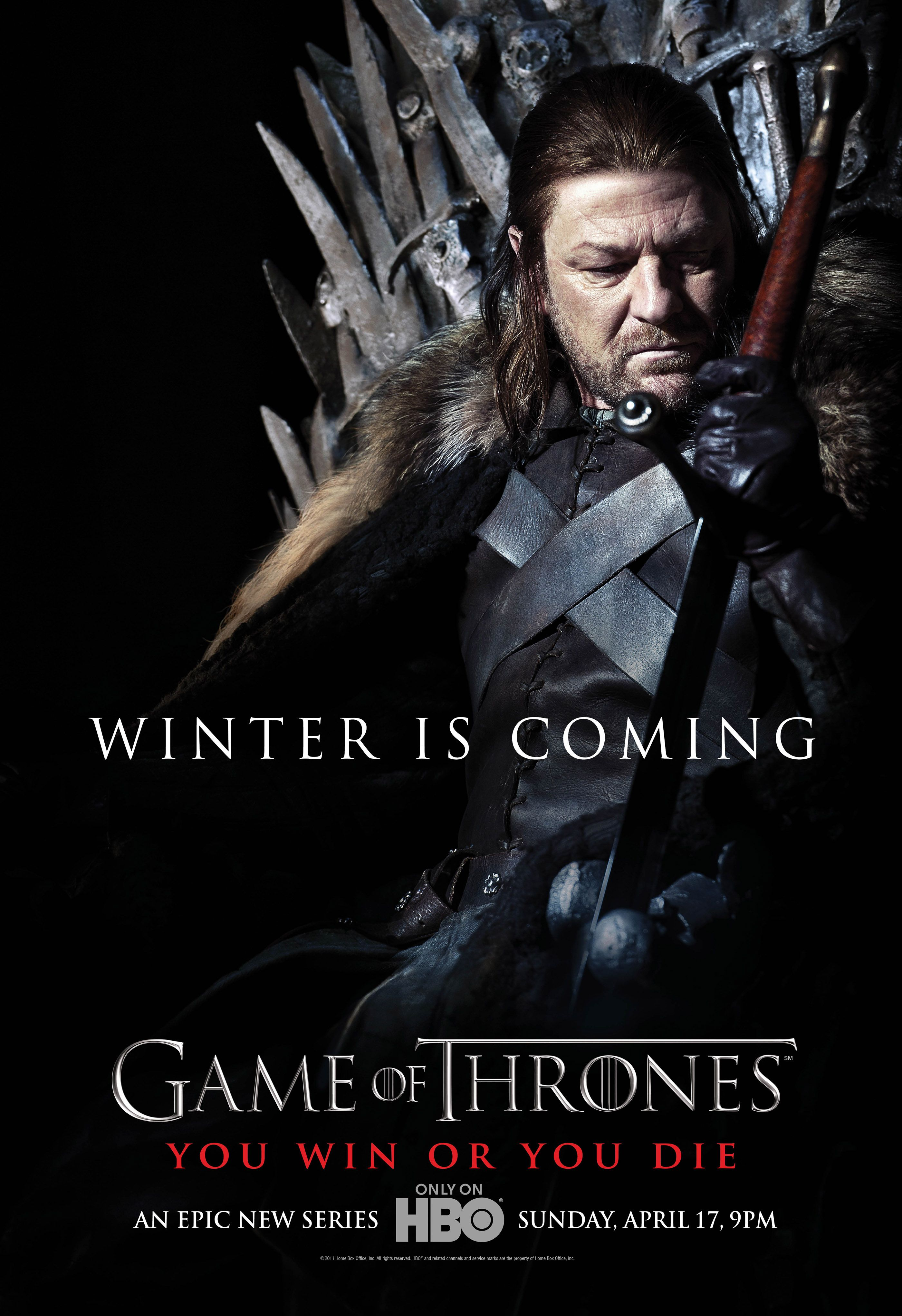 Game Of Thrones Season 1 Promotional Posters Winter Is