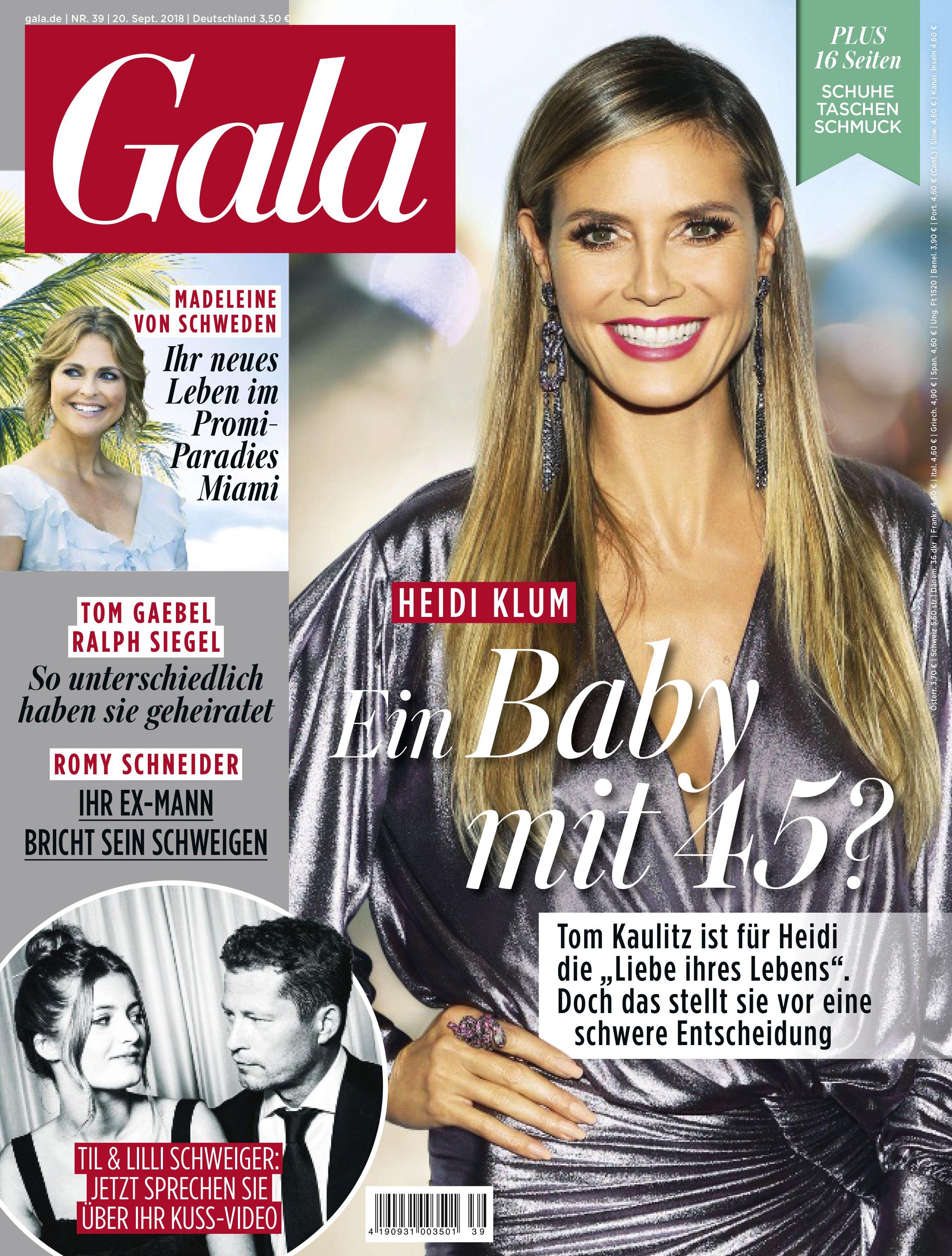 Heidi Klum und Tom Kaulitz: Bilder ihrer Liebe | Gala ...