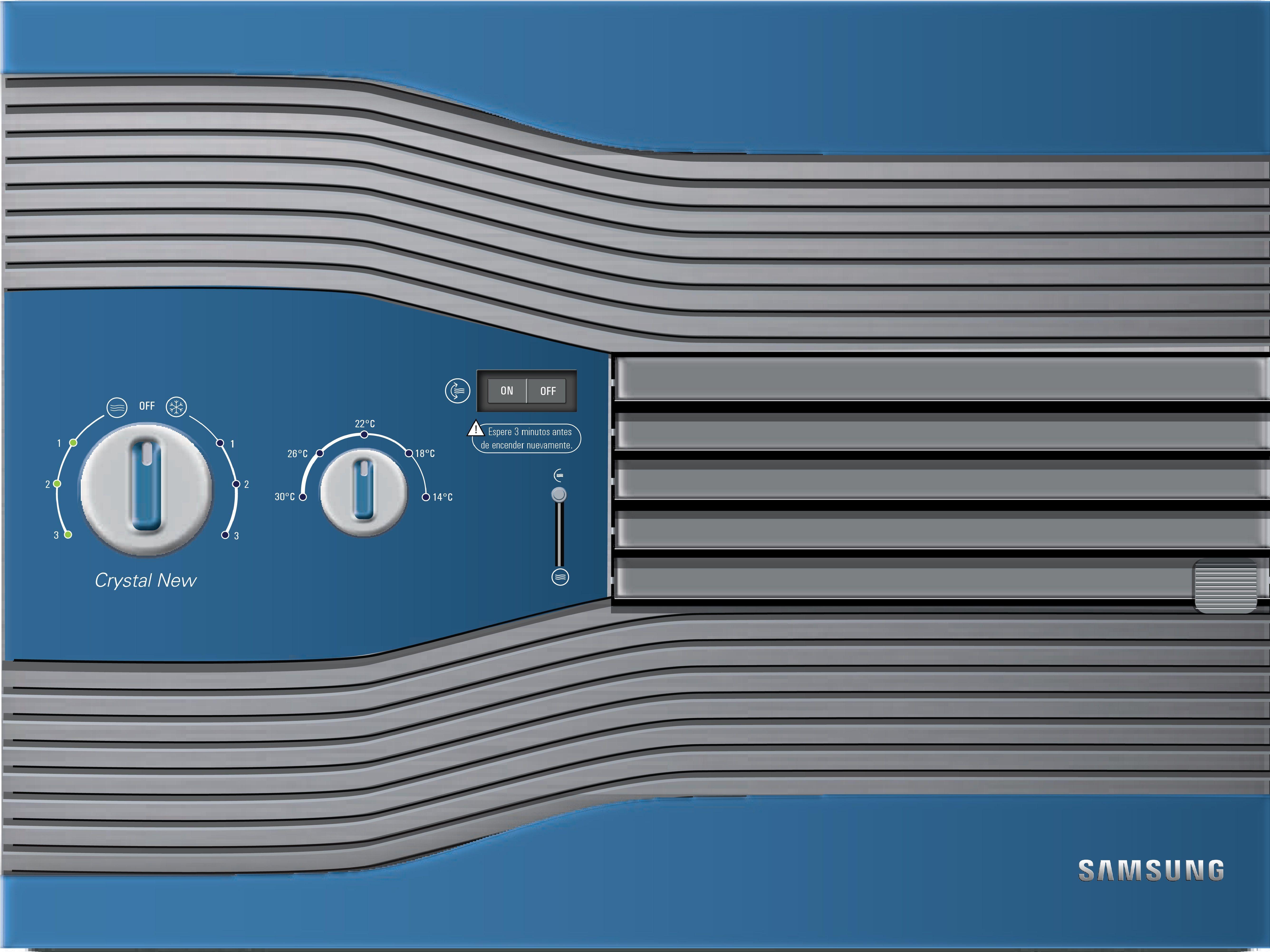 Diseño de Aire Acondicionado Gráfica para productos