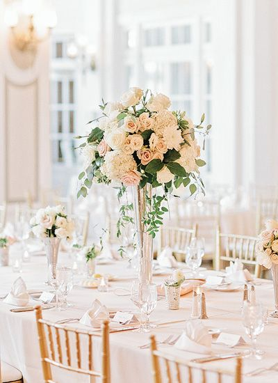 Georgian terrace wedding by amy arrington floral pinterest still needs pops of the dark accents but the greenery accented is nice in the tall arrangement junglespirit Gallery