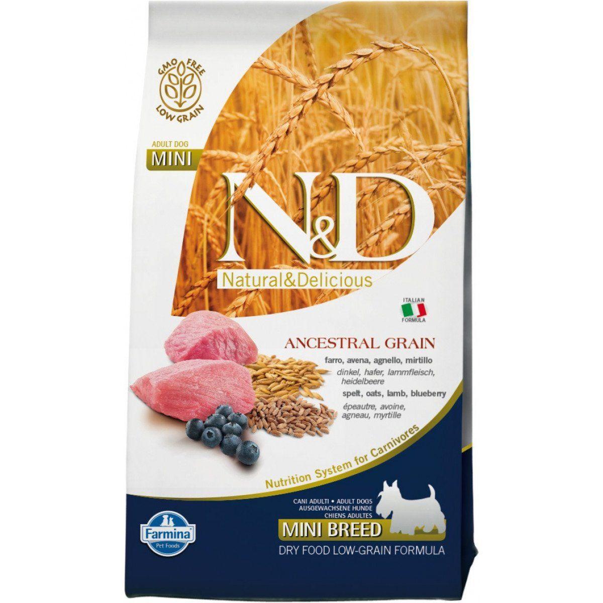 Farmina Natural and Delicious Ancestral Low Grain Lamb and