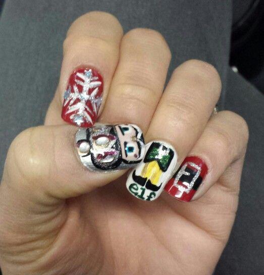 Christmas Nailart Diy Elf Nutcracker Nails By T Pinterest