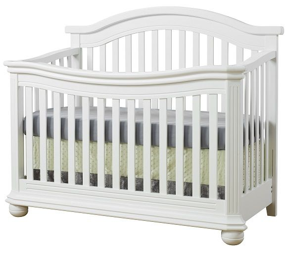 Sorelle Vista Elite Crib White Cloud Nursery