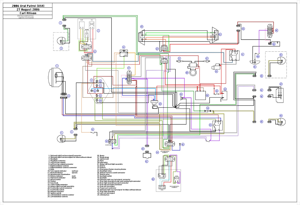 Ural Engine Diagram Wiring Library Motorcycle Wiring Diagram Ural Motorcycle