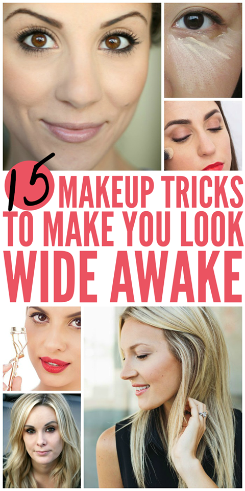 5 Makeup Tricks For Your Tired Eyes Beauty hacks, Beauty