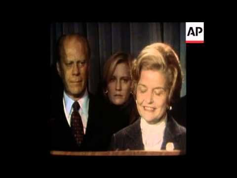 Synd 3 11 76 Betty Ford Concedes Victory For Ford Youtube