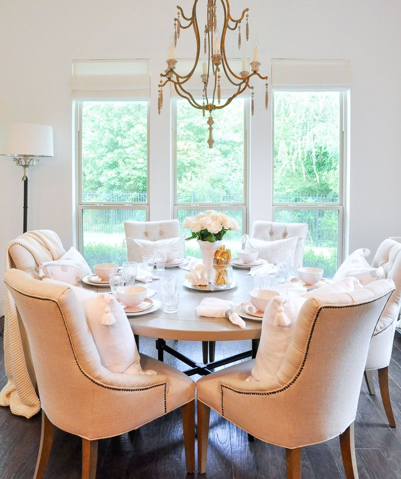 How To Decorate For Summer Breakfast Table Setting Breakfast Table Decor Breakfast Table
