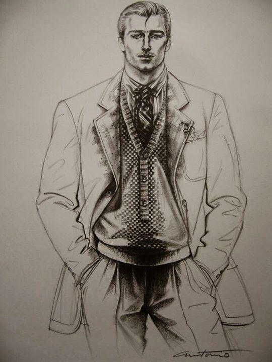 Fashion Illustration By Antonio Lopez Moda Y Ilustraciones