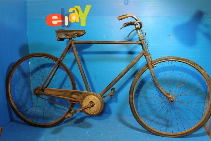 Bici Epoca Anni 30 30s Bacchetta Vintage Old Bike Fixed Wolsit