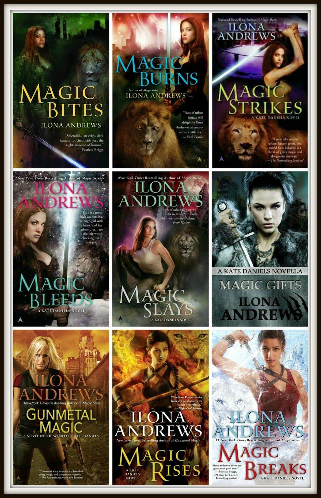Novels on the run ilona andrews kate daniels series