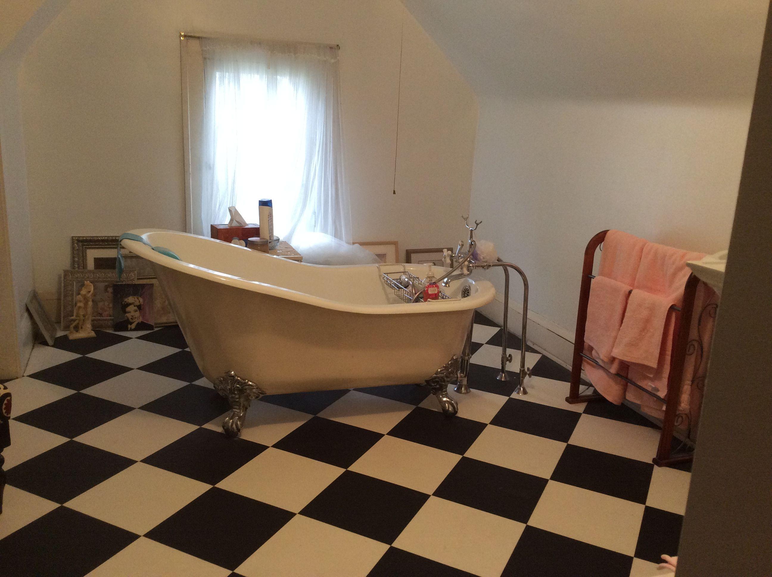 Third Floor Junk Storage Dump All Room Turned Into A Full Bath