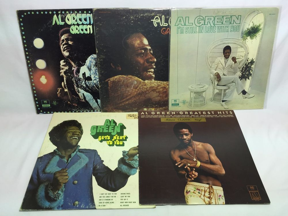Al Green Lp Vinyl Record Lot Is Blues Call Me Gets Next To You