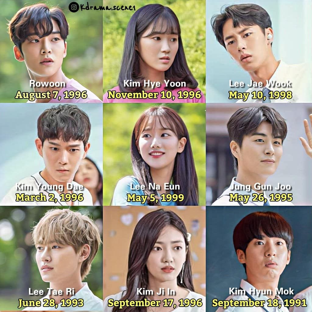 Kdrama Scene On Instagram The Age Difference Of The Cast Of Extraordinary You I M 4 Days Younger Than Kim Hye Yoon Le Foto Kucing Lucu Aktor Korea Lucu