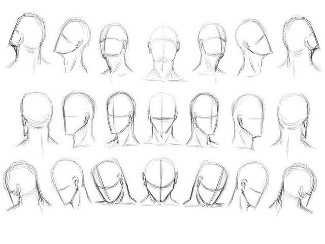 How To Draw The Human Head Draw As A Maniac Drawing The Human Head Drawing Heads Drawings