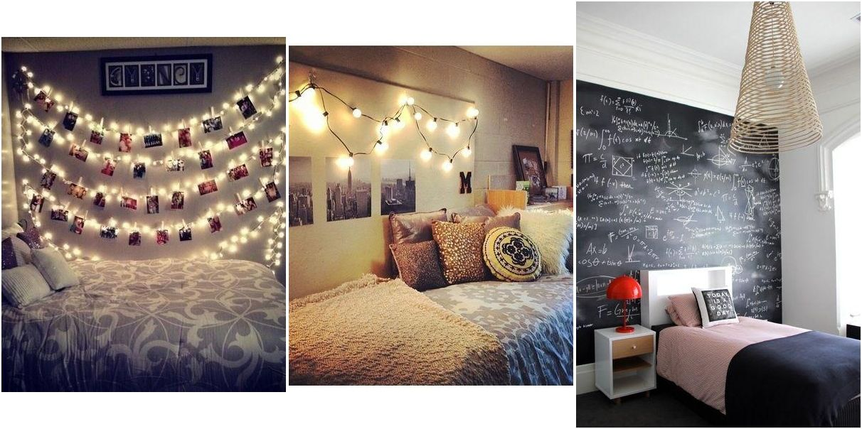 7 Maneras De Decorar Una Pared En Un Dormitorio Juvenil Dormitorios Hogar Dormitorio De Chicas Adolescentes