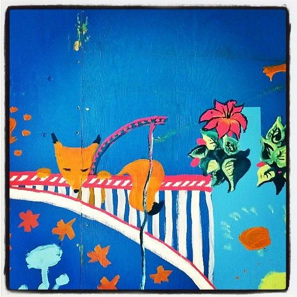 Viekas kaunis #citykettu #fox #kettu #katutaidetta #Pasilassa #Helsinki #katutaideaita #streetart #streetphotography #urbanart #kraffiti #graffiti #TriplaPasila