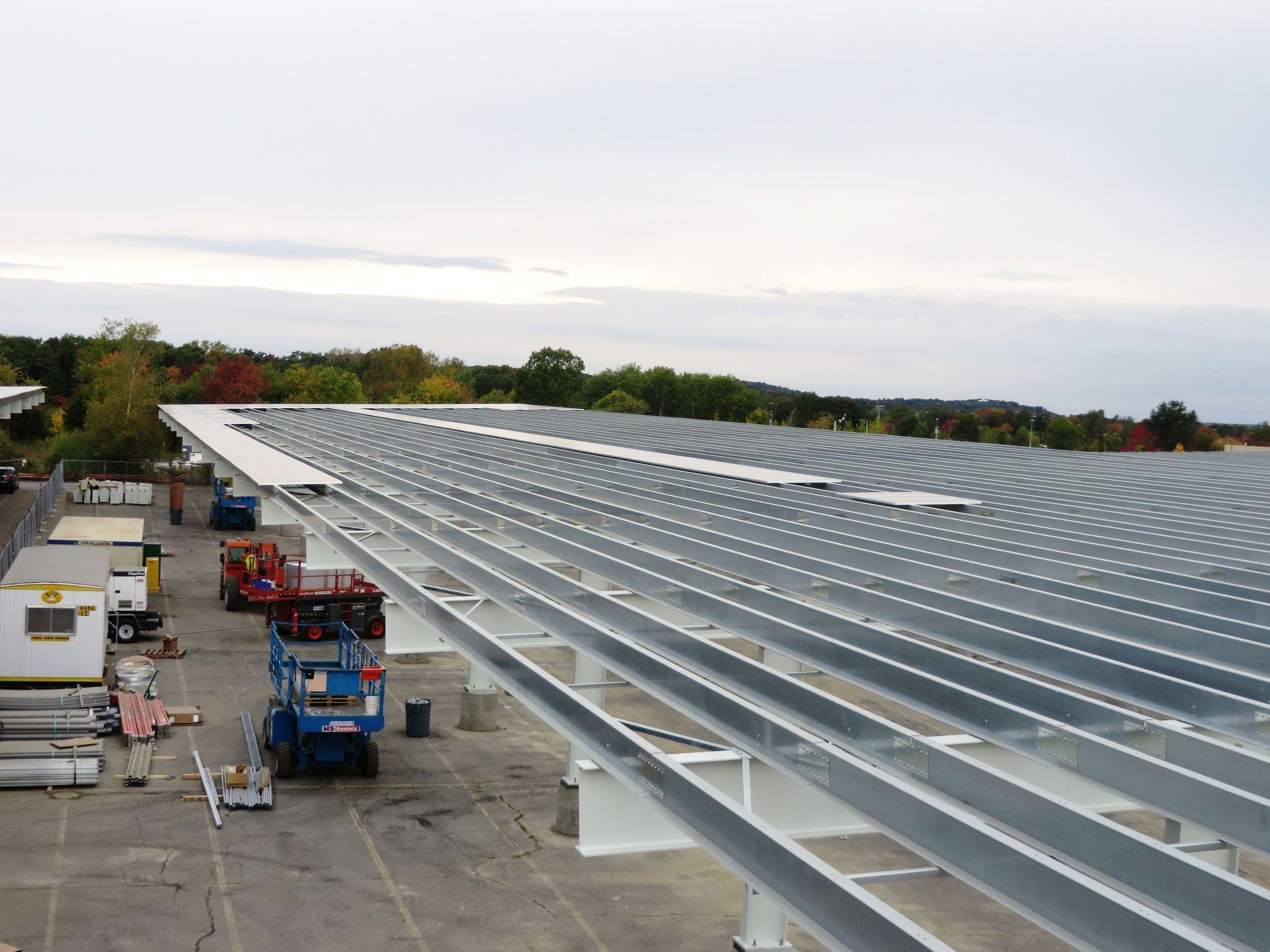 Adesa 4 23 Mw Carport Canopy Solar Array William Bliss Iii Carport Canopy Solar Canopy