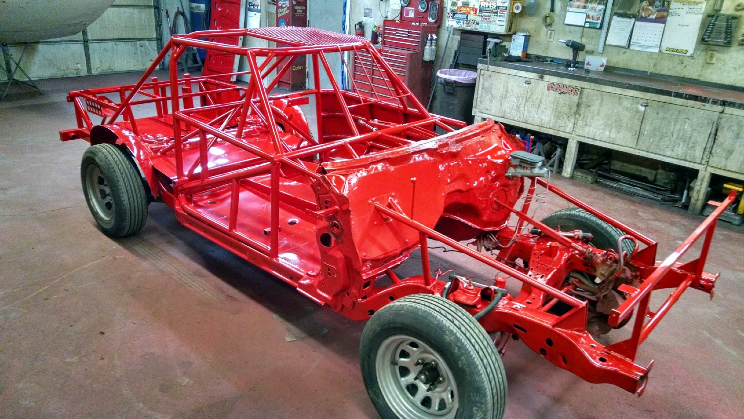stock car chassis setup