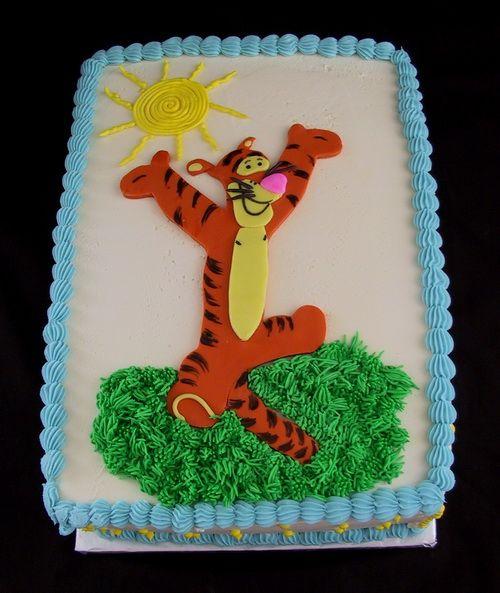 winnie de pooh de las tortas de cumpleaños temáticas Homemade Cakes cumpleaños