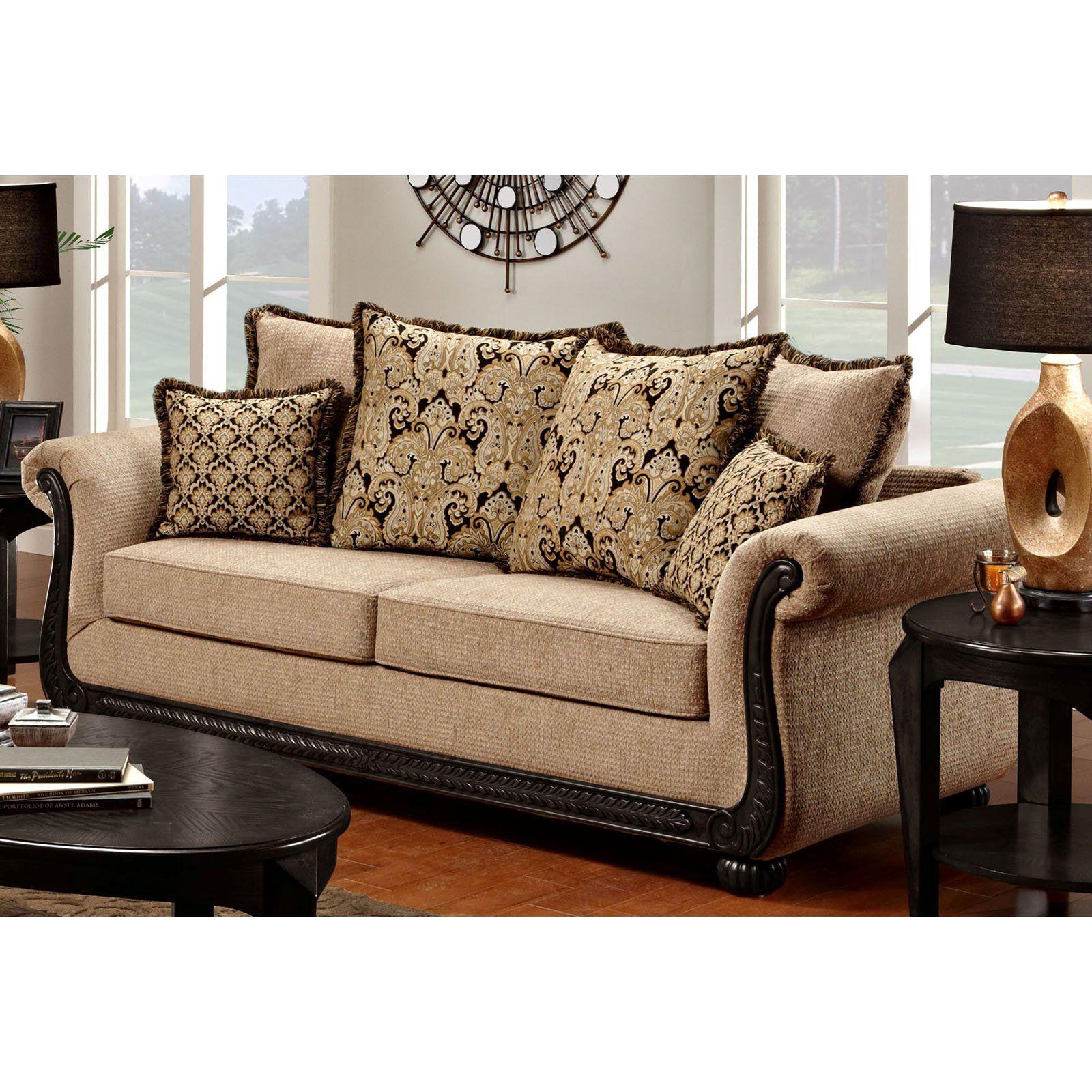 Chelsea Home Furniture Carol Sofa From Hayneedle Com Chelsea