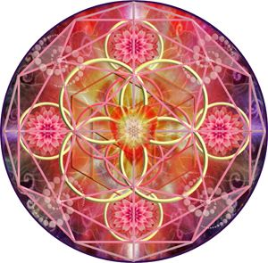 Sacred Geometry for Activating the New Heart Chakra of