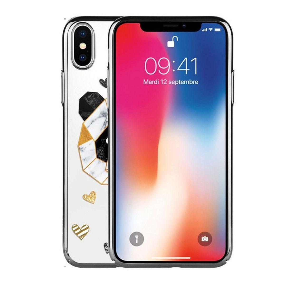 coque iphone xs geometrique