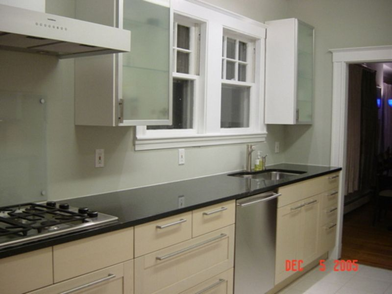 Painted Kitchen Cabinets | Kitchen Cabinets Painting Ideas, To The Wall  Cabinets Using White .