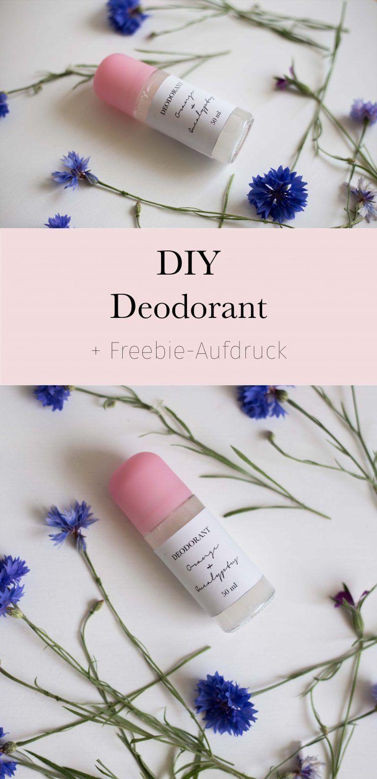 DIY Deodorant + Werbegeschenk