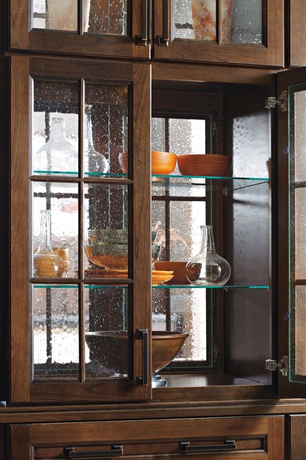 cabinets with glass shelves add a gentle elegance and really let rh pinterest com