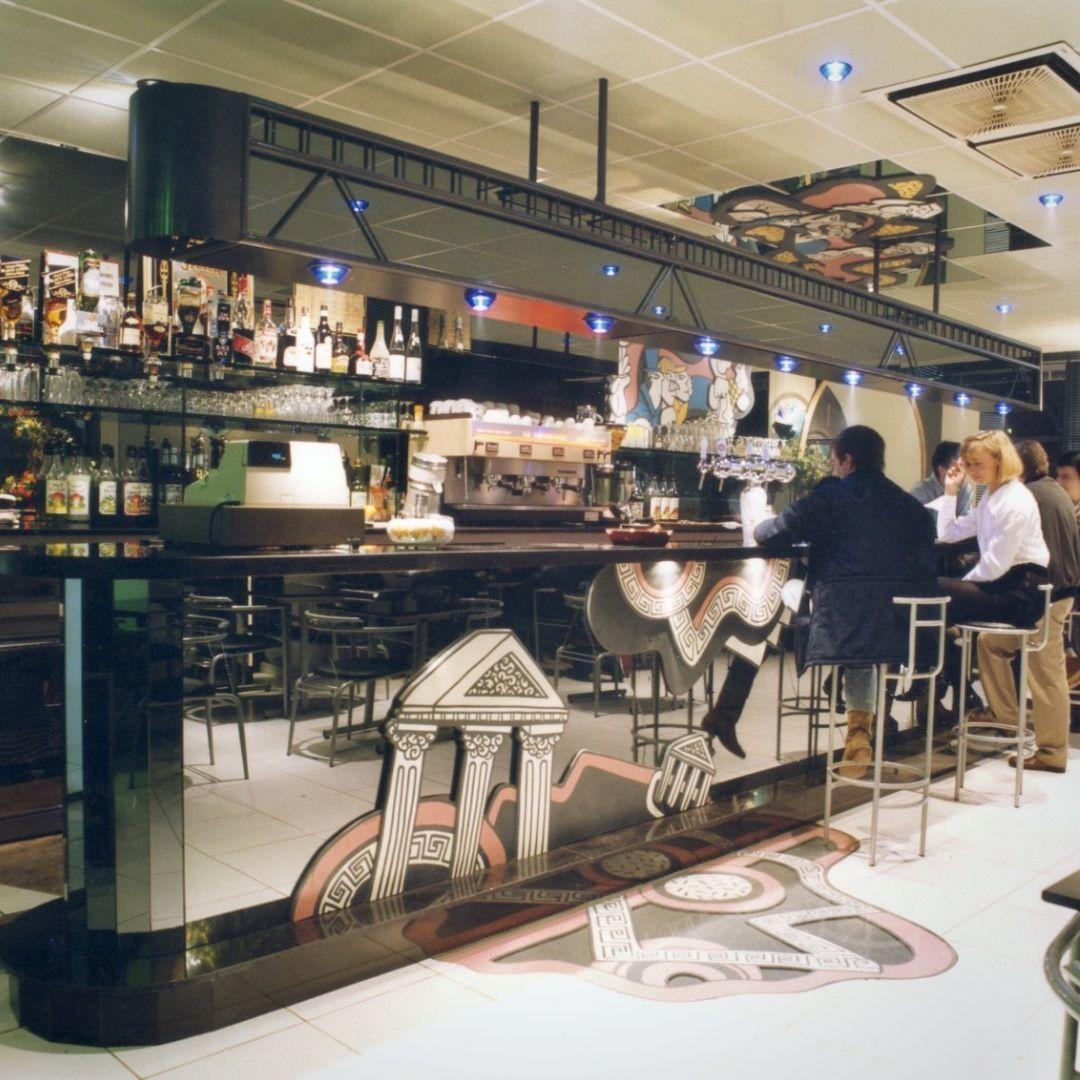 Bar Belle Vue En Verre Comptoir De Bar Bar Comptoir
