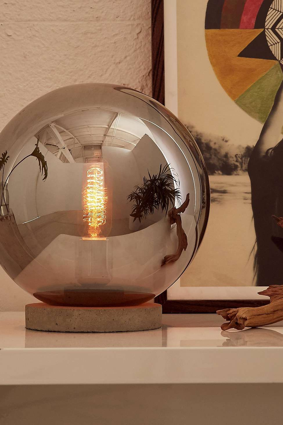 Round cloche table lamp urban outfitters for the home round cloche table lamp urban outfitters aloadofball Choice Image
