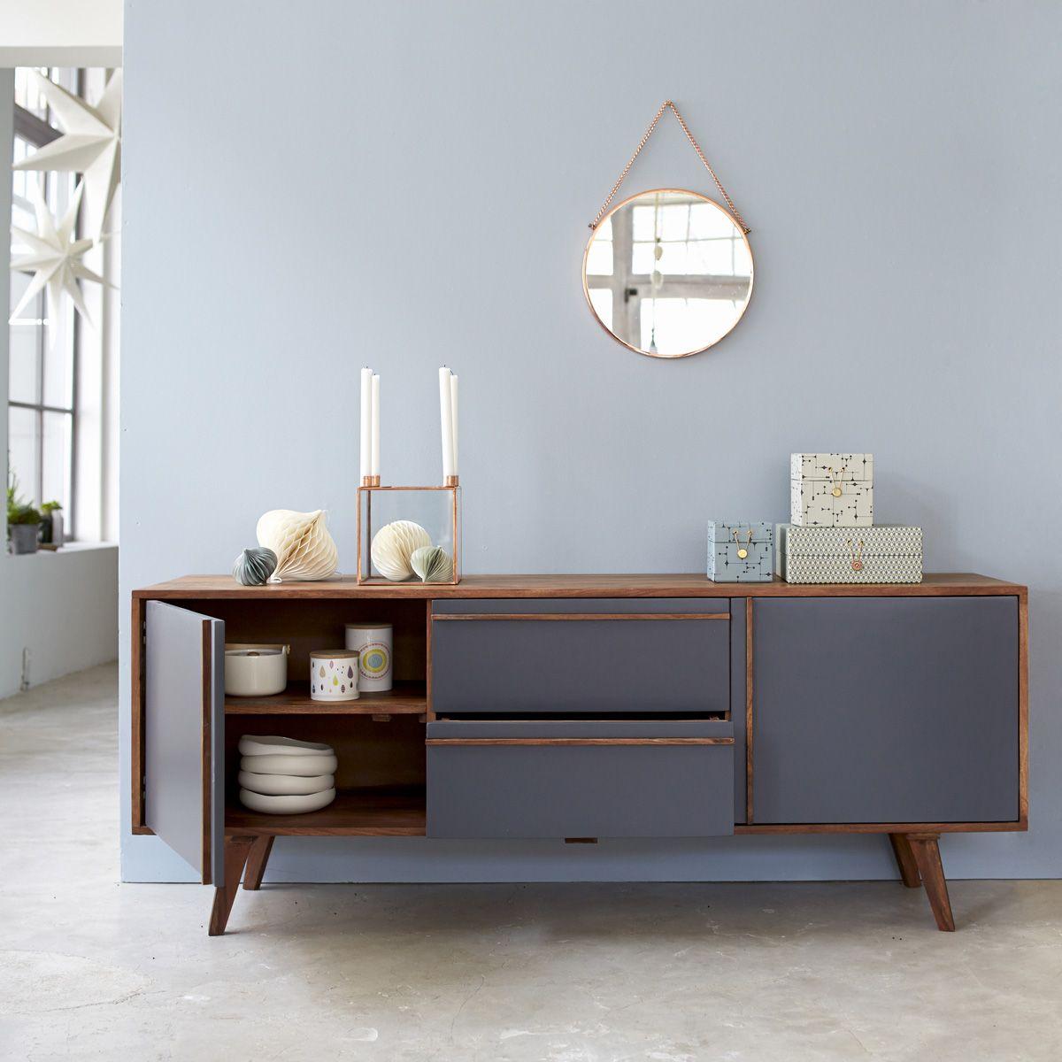 Best Niels Sheesham Sideboard 175 Scandinavian Furniture 640 x 480