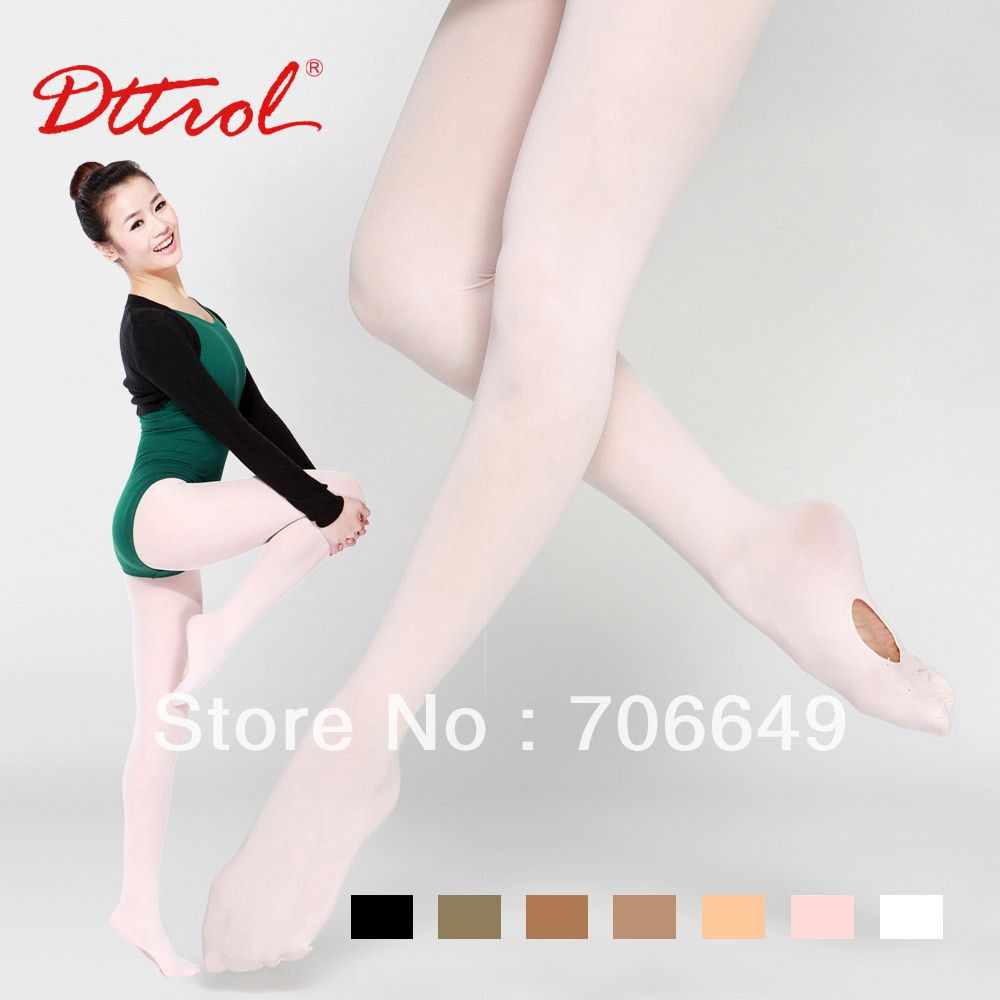 Kids Adults Convertible Tights Dance Stocking Footed Socks Ballet Pantyhose Band