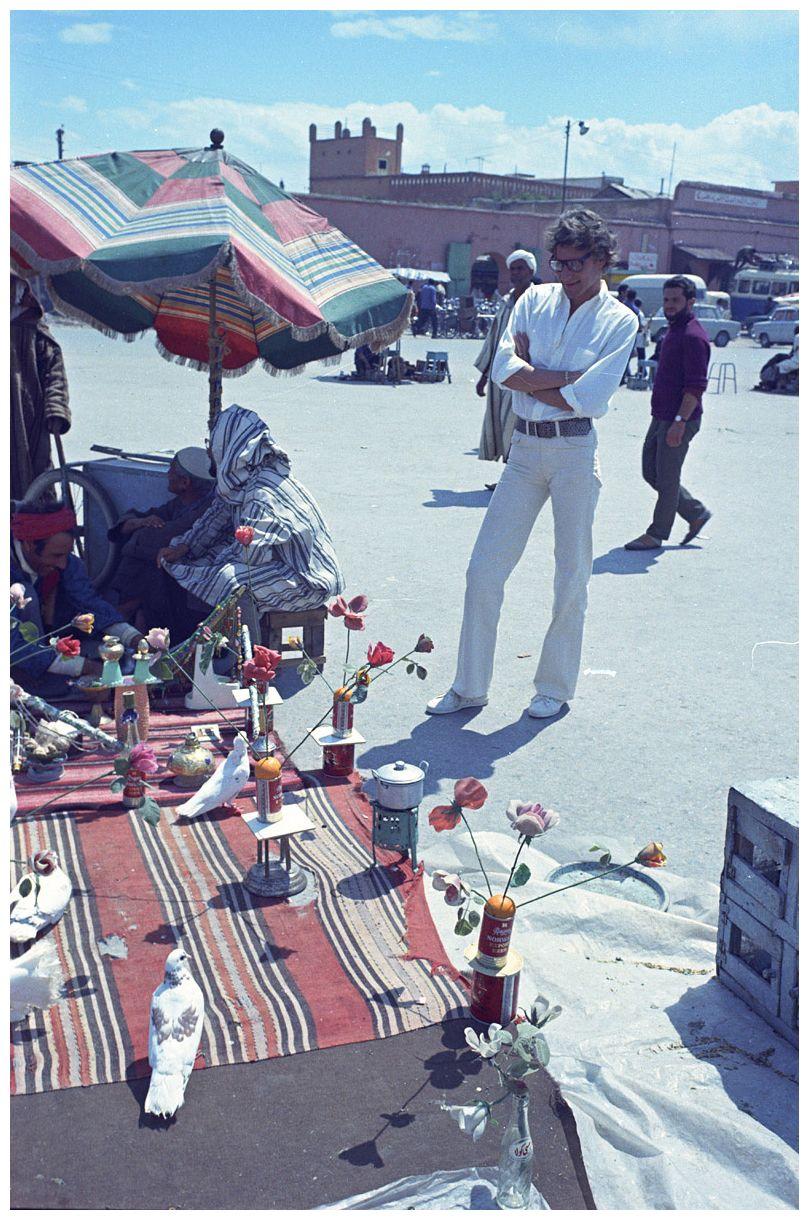 e6b94fd78de Yves Saint Laurent in Maroc   Fashion   Yves saint laurant, Saint ...