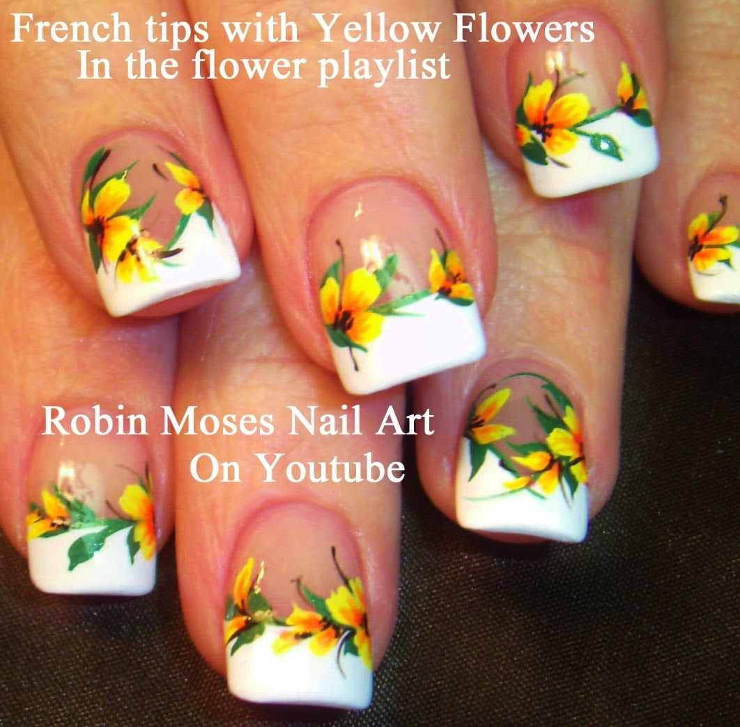 Yellow nail art designs to wear for summer! Bright and Beautiful ...