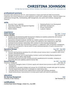 Resume Template Styles  Resume Templates  MyperfectresumeCom