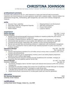 resume template styles resume templates myperfectresumecom - My Perfect Resume Templates