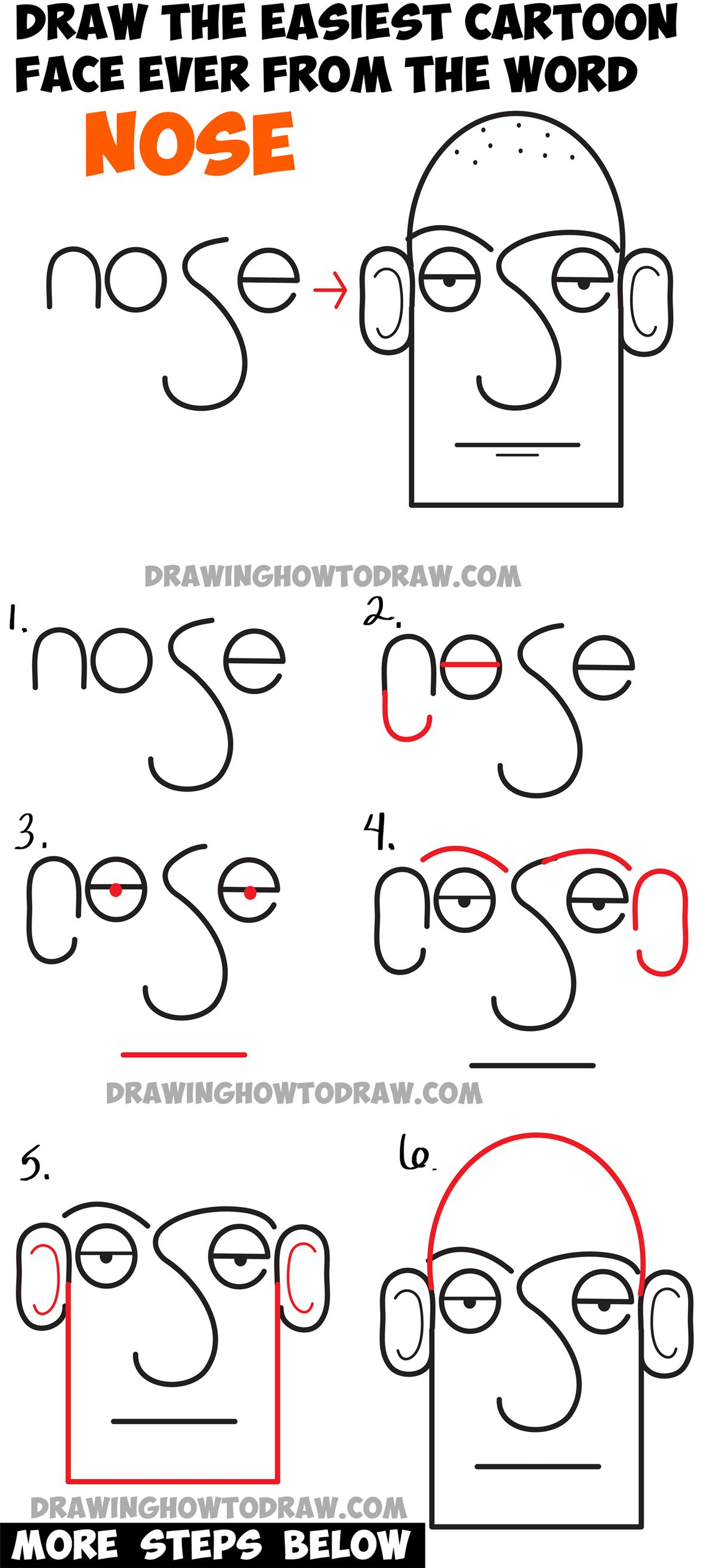 how to draw a croquis step by step
