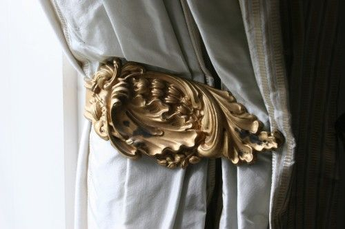 Antique Tie Backs Free For The Asking Curtain Tie Backs