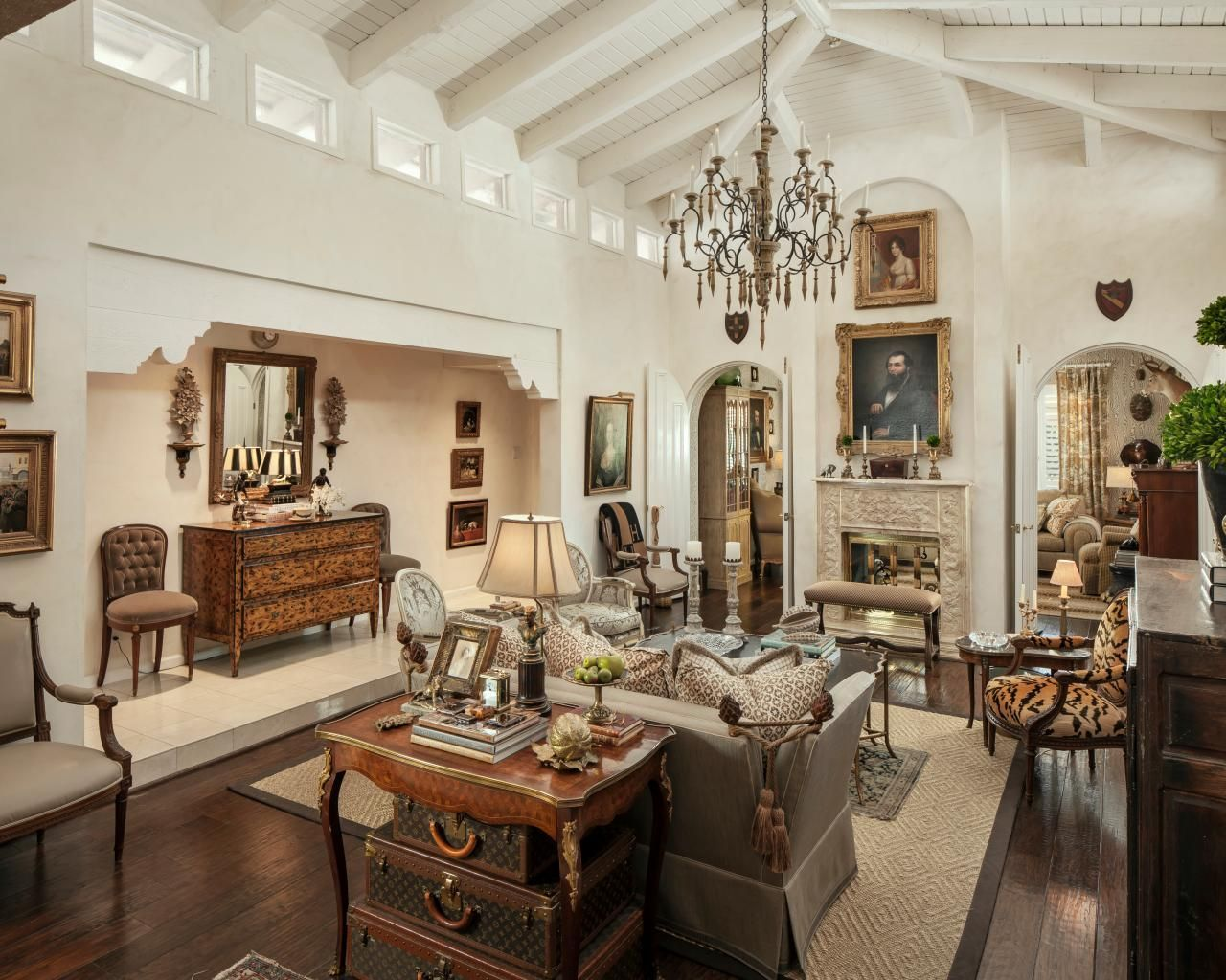 76 French Country Living Room Ideas That Will Delight You | French ...
