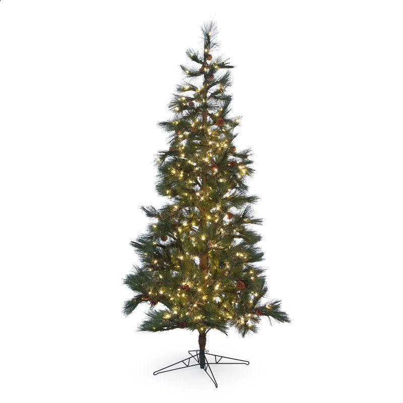 7.5 ft. Pre-lit Redmond Spruce Christmas Tree - G154576LED